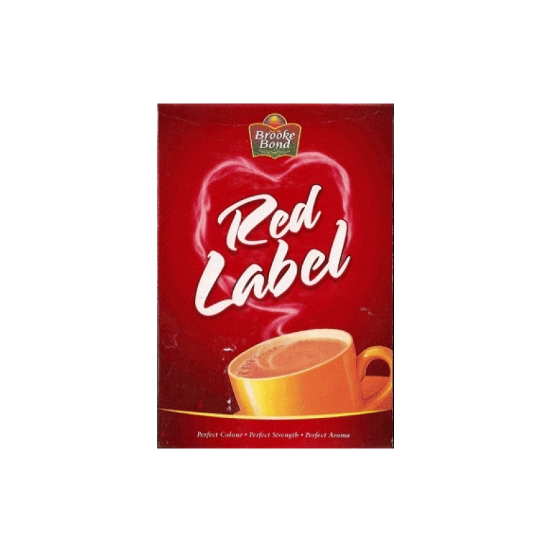 BROOKE BOND RED Label Black Tea